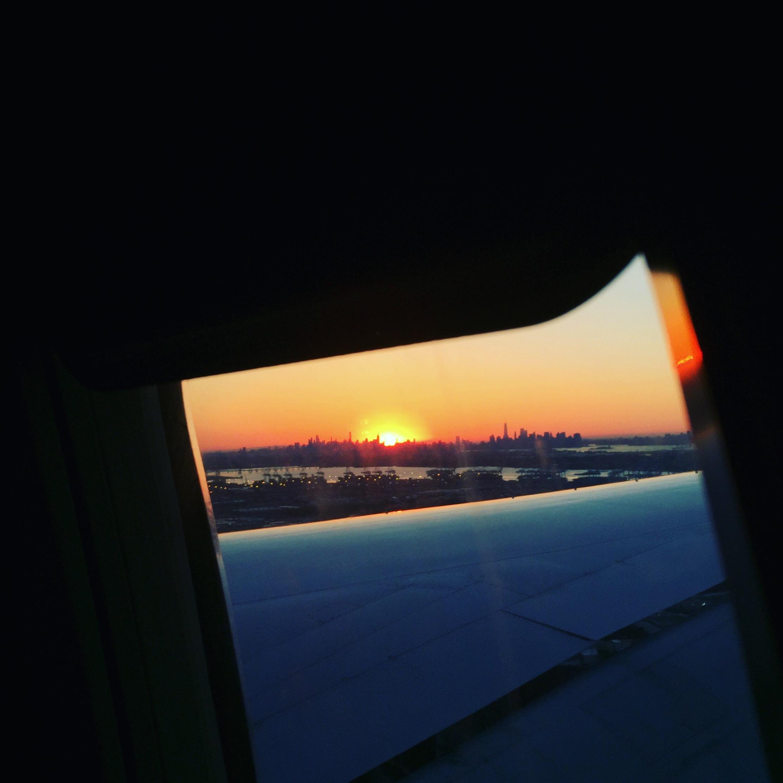 Sunrise Over New York City, @themartinharo/Instagram