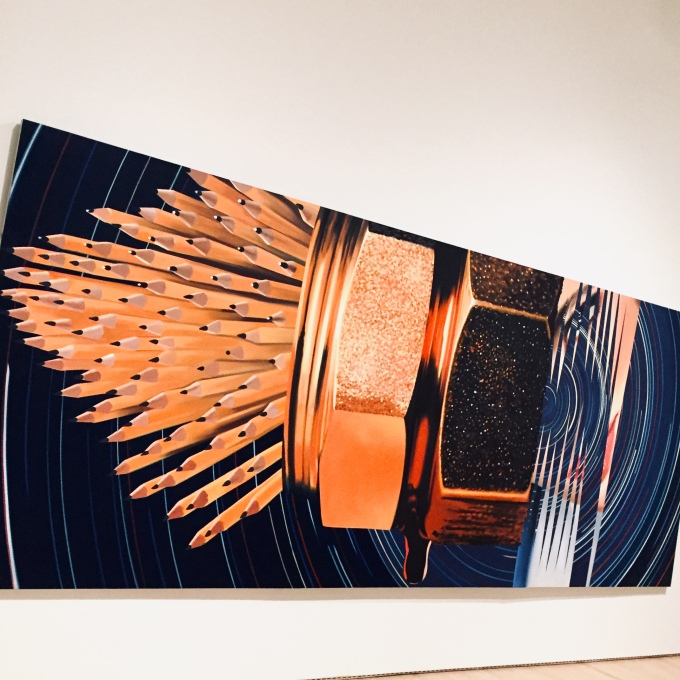 James Rosenquist's Leaky Ride for Dr. Leakey, Martin Haro