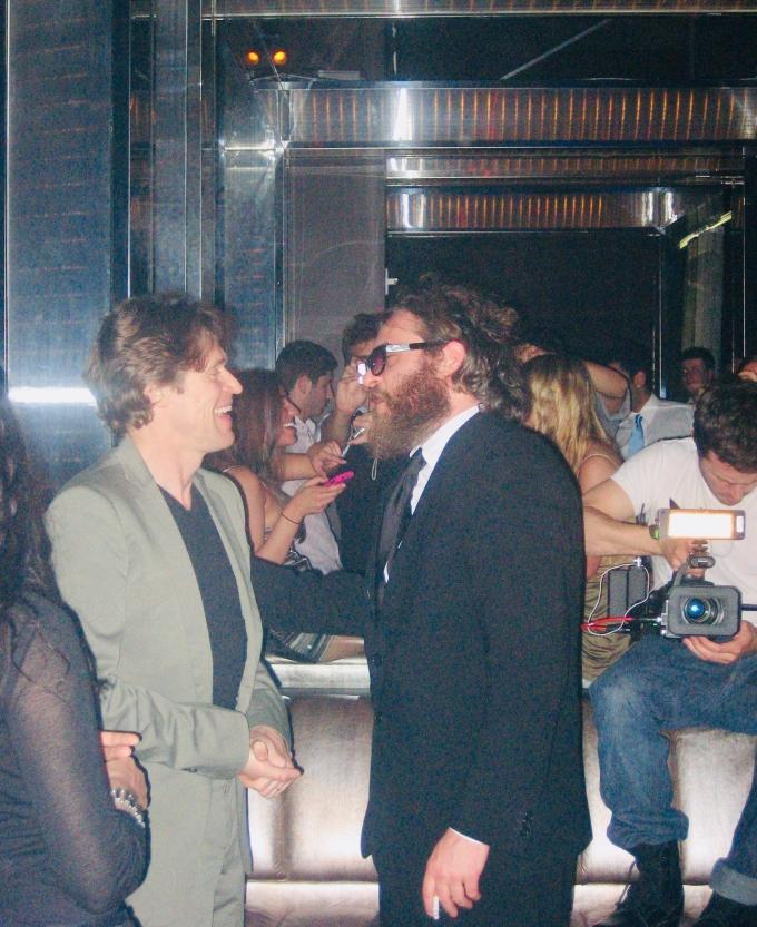 Willem Dafoe, Joaquin Phoenix & Casey Affleck, Martin Haro. Miami Beach, 3.12.09