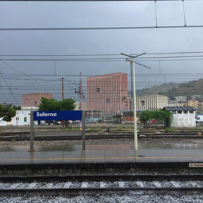 Salerno Train Station, Martin Haro