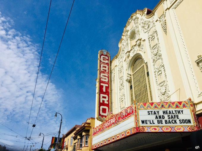 Greetings from the Castro Theatre, 5.17.20, Martin Haro